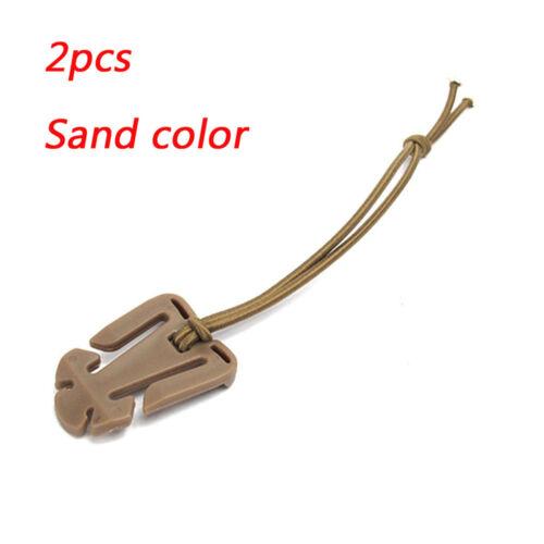 Lot 2PCS EDC Bag Mini Tool Backpack Carabiner Molle Buckle Clip Winder-Update