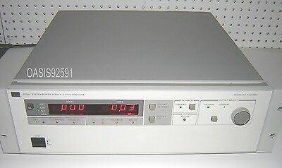HP/Agilent 6031A System DC Power Supply 20V/120A/1064W/HP-IB with Manuals