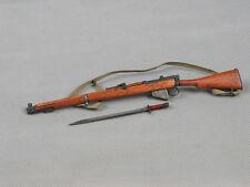 "1/6 Soldier Story WWII Lee Enfield Rifle Metal Gun Weapon Model F 12"" Figure Toy"