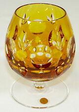 NACHTMANN - Römer COGNACSCHWENKER Cognacglas Glas BLEIKRISTALL - GELB