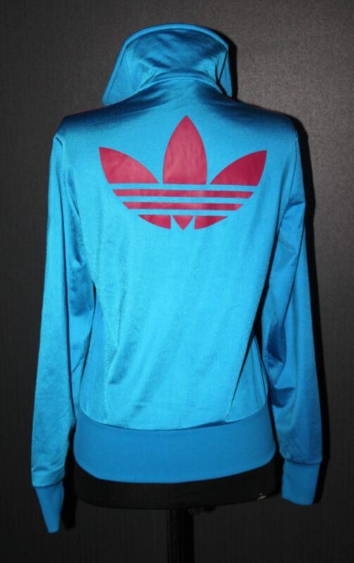 Purposeful Adidas Originals Womens Blue Big Logo Jacket Size 38 Customers First
