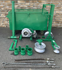 Greenlee 640 Tugger 4000lb 4k Cable Wire Puller Setup Great Shape