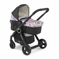 Chicco Urban Plus Crossover Stroller Pushchair Inkl Color Pack Itty Bitty City