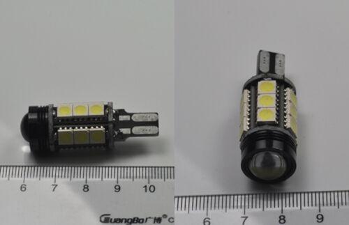 2x White Error Free LED Reverse Back up Light Bulbs For Bmw E60 5s 2003-2010