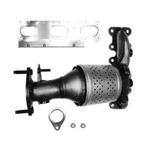 Exhaust-Manifold-with-Integrated-Catalytic-Converter-Fits-2013-2015-Ford-Explor