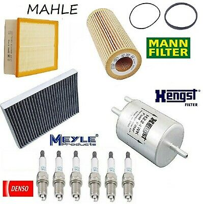 Tune Up Kit Cabin Air Oil Fuel Filters Plugs for Volvo XC90 V8; 4.4L 2005-2011