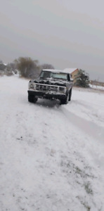Ford bronco 1979  Trade only for a jeep