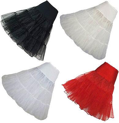 """Geschickt 26"""" Retro Underskirt 50s Swing Vintage Petticoat Rockabilly Tutu Fancy Net Skirt Hohe QualitäT Und Geringer Aufwand"""