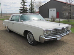 1966 Crown Imperial Chrysler 4-Dr. Hardtop, Very Complete Driver