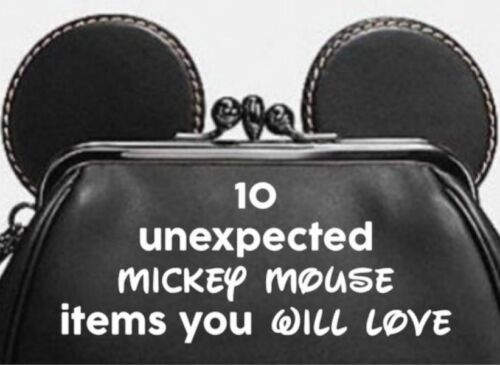 10 Unexpected Mickey Mouse Items You'll Love