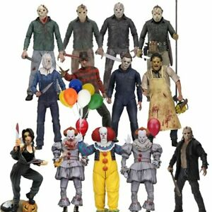 13th-Friday-Jason-Leatherface-Chainsaw-John-Michael-Myers-Freddy-Figure-Toys-New