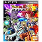Dragon Ball Z: Battle of Z (Sony PlayStation 3, 2014)