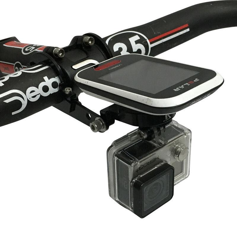 POLAR(R) Combo Mount Deda M35 35mm Handlebar for M460 V650 M450 & GoPro