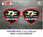 Sticker-Vinilo-Decal-Vinyl-Aufkleber-Autocollant-Isle-of-Man-TT-Trophy-Isla-1 miniatura 3