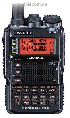 YAESU VX-8DE 50/144/430MHz (5 WATT) TRIBAND HANDHELD BRAND NEW LATEST VERSION