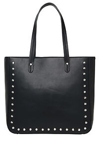 NEW-Basque-BHH009-Studded-Tote-in-Black