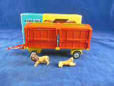 Corgi toys 1123 Chipperfield's Circus Animal Cage (Lions)  Original & Boxed