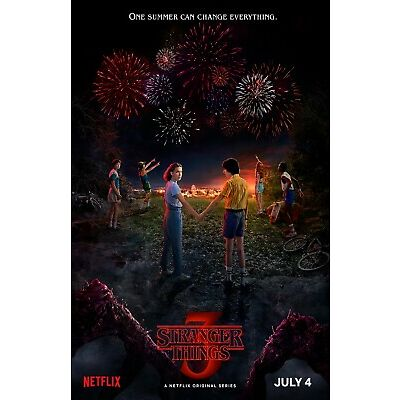 Stranger Things poster (f)  -  11 x 17 inches