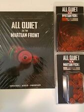 All Quiet on the Martian Front Book + Templates & Markers
