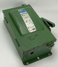 Ite Gould F321h 30 A 240vac Fusible 3 Pole Disconnect Nema 12 Safety Switch 3p