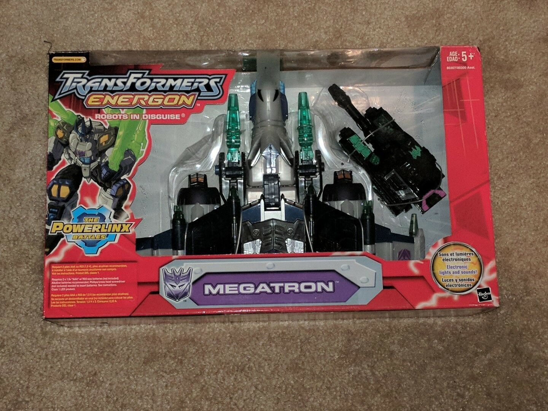 Transformers Energon  Megatron (The Powerlinx Battles) MISB