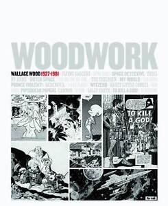 Woodwork-Wallace-Wally-Wood-1927-1981-Art-Book-EC-Comics-Mad-Galaxy-New-Mint