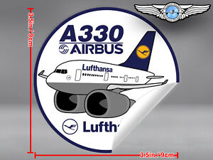 LUFTHANSA-PUDGY-AIRBUS-A330-A-330-IN-OLD-LIVERY-DECAL-STICKER