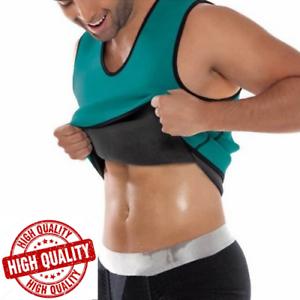 Kewlioo Sauna Vest Men Body Shapers Vest Slimming Waist Fitness Weight Loss