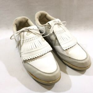 379263d263b Vintage 80s Nike Air Golf Shoes Womens Size 8.5 861012CH White ...