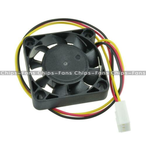 1//5PCS 2//3Pin 4cm Computer CPU Cooler Cooling Fan PC 40x40x10mm DC 12V UK