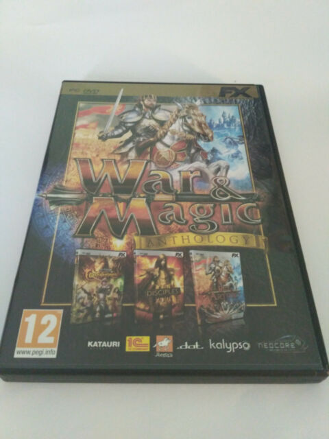 War & Magic Anthology Pc Dvd Rom FX Interactive