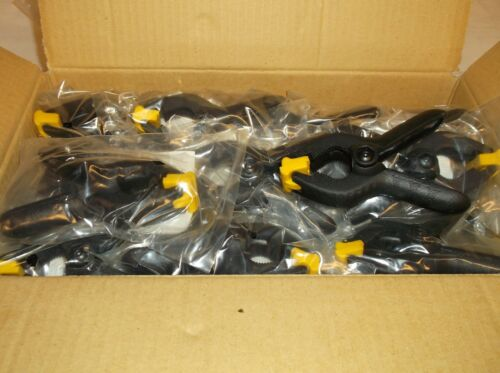 Box of 20 A12 20 Lot of New Spring Hand Clamp 1 Inch no slip