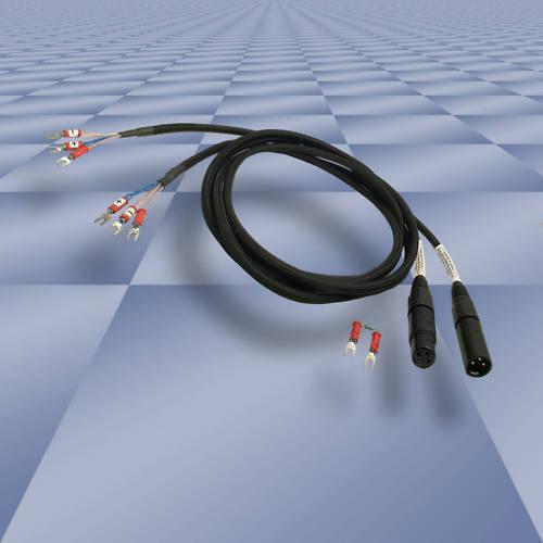 Adaptor cable kit 3/' Lugs-XLR for UREI LA2A LA3A 1176