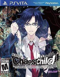 Chaos Child (Chaos;child) PlayStation Vita, PSV + Artbook - Brand New
