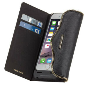 new arrive 365a6 77017 Details about Rebecca Minkoff Case-Mate iPhone 6S Charging Wristlet Leather  Folio Wallet Case
