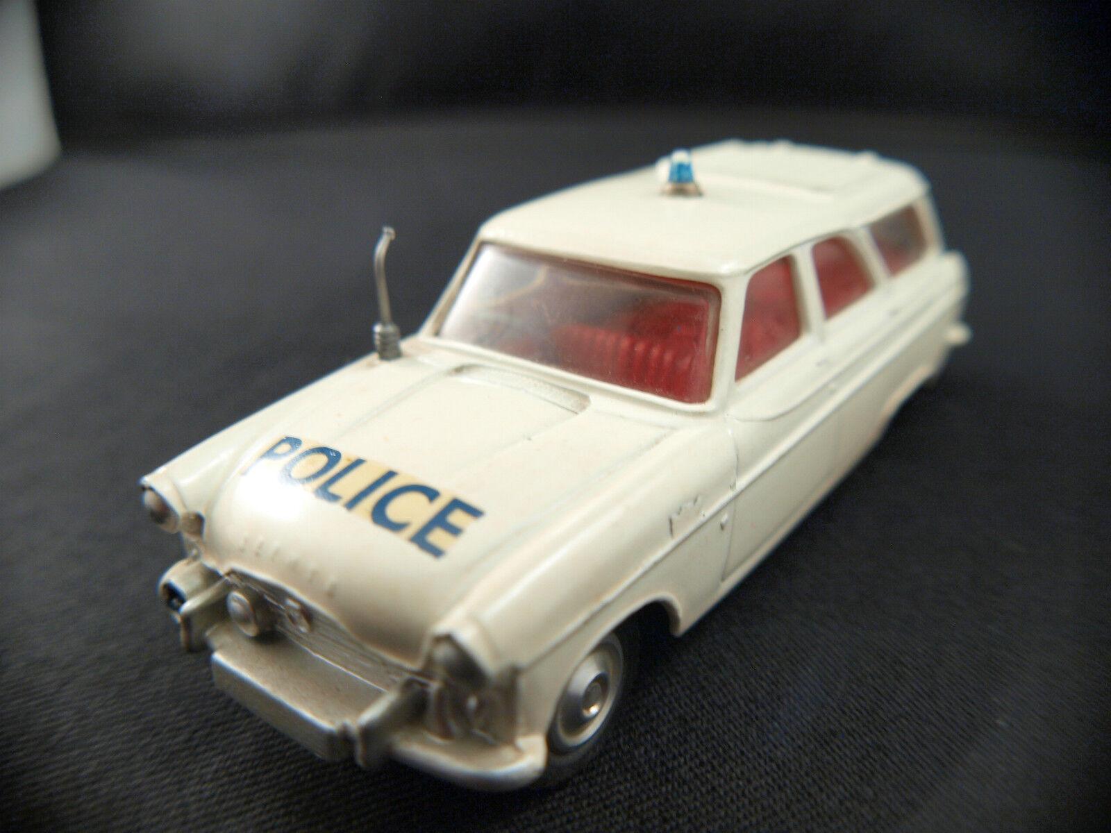 Corgi GB Nr. 419 Ford Zephyr Polizei Car 1 43 De 1960 Peu Fréquente