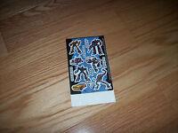Transformers Hasbro Stickers - Scrapbooking Teachers Megatron Jazz Lego Vintage
