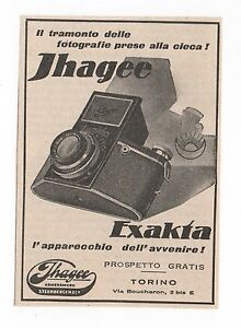 Pubblicita-1933-EXAKTA-IHAGEE-DRESDEN-FOTO-PHOTO-advertising-werbung-publicite