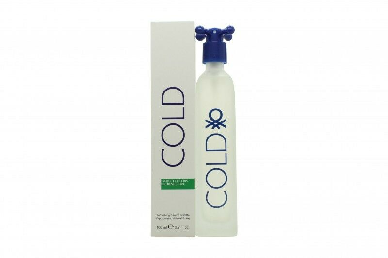 United Colours of Benetton Cold refreshing EDT spray 100ml for All
