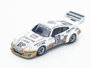 Spark Modèle 1:43 Sf099 Porsche 911 Rsr # 430 Tour Auto 1976 Frequelin / delaval Nouveau