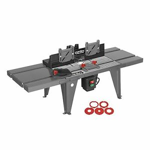 Ozito 850 x 335mm router table ebay image is loading ozito 850 x 335mm router table keyboard keysfo Images