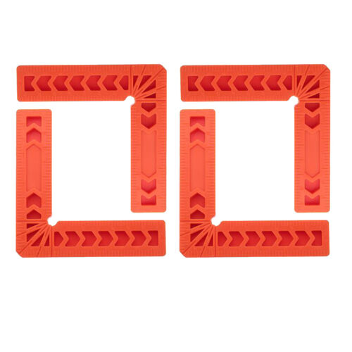 90° Angles for Picture Frame 4x 3/'/' Positioning Squares Woodworking Tool