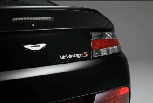 Red Aston Martin V8//V12 Vantage /'S/' Badge
