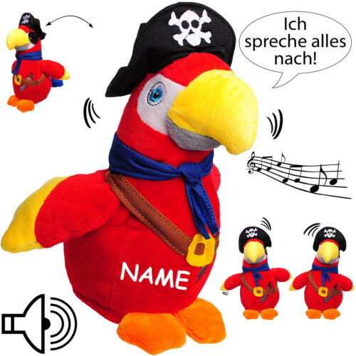 """After talking-Parrot//Bird//ARA-Pirate /""""I speak everything after /& be"""
