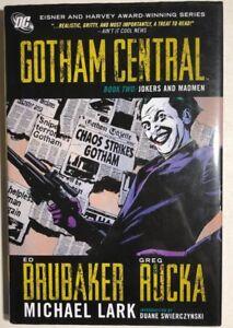 BATMAN-Gotham-Central-book-2-Jokers-amp-Madmen-2009-DC-Comics-hardcover-TPB-1st