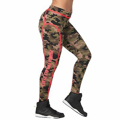 Med Army Green  XS XL XXL Zumba Be About Love Perfect Long Leggings Lg Sm