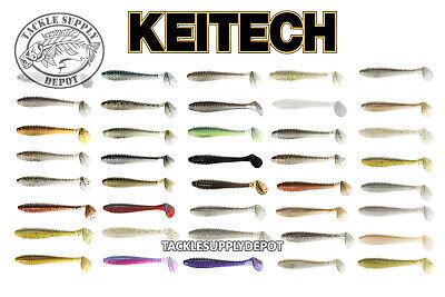 "Keitech Swing Impact Fat 3.3/"" fishing lures original range of colors"