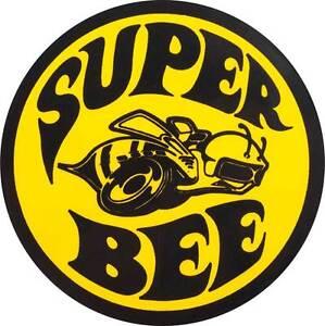 Dodge-Super-Bee-Logo-Decal-Vinyl-Sticker-Diecut-4-Stickers