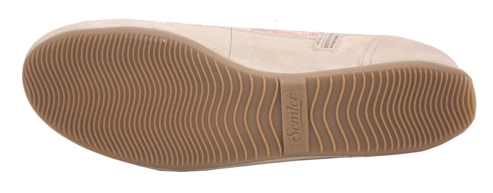 SEMLER SEMLER SEMLER Sneaker Schnürer Tracy T45161-105-768 stein/altrosa 28693b
