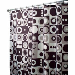 Image Is Loading Inter Design MOD Square 35022 Bathroom Curtain Cloth